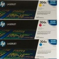 HP CC531A(藍) / CC532A(黃) / CC533A(紅) 原廠碳粉匣