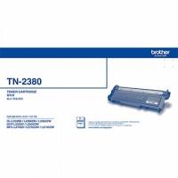 BROTHER TN-2380黑色原廠碳粉匣-2入