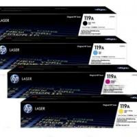 HP 119A W2090A(黑色)/W2091A(藍色)/W2092A(黃色)/W2093A(紅色) 原廠碳粉匣 四色一組